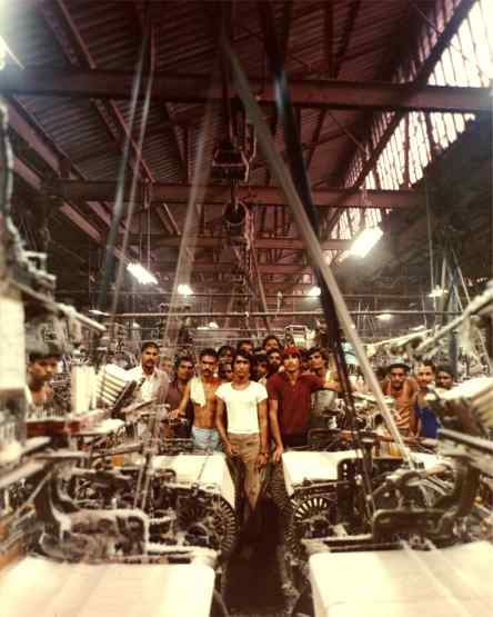 1981 Indian Textile Mill Documentary Project