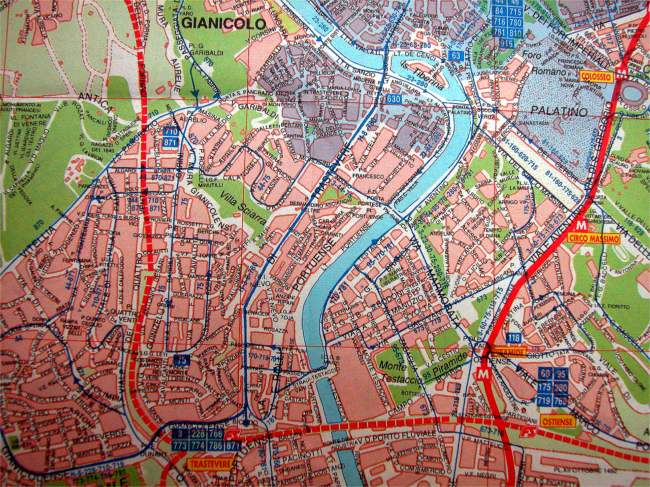 Rome Italy Subway Map.Maps Of Rome