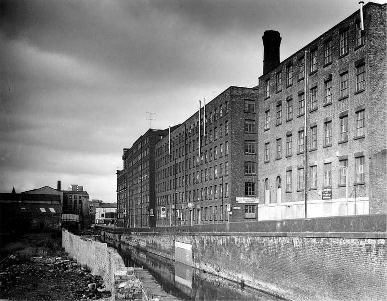 Industrial Revolution Mills England-Landscapes of ...